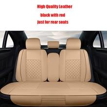 (Назад чехлы на сиденья) Кожаный чехол автокресла для Toyota Corolla Camry Rav4 Auris Prius yalis бегун стайлинга автомобилей аксессуары для укладки