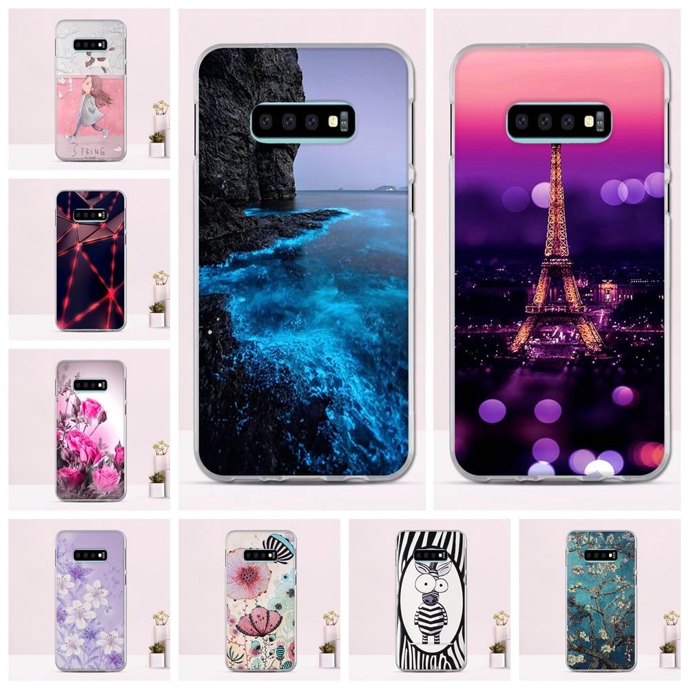 For Samsung Galaxy S10e Case Cover Soft TPU funda For Samsung Galaxy S10e Cover 5.8