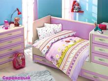 Комплект постельного белья для новорожденных ALTINBASAK, GULUCUK, сиреневый