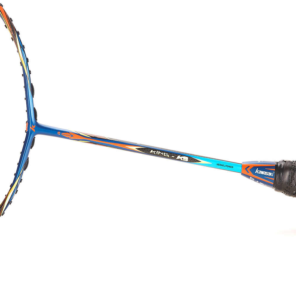 2019 Kawasaki Original Badminton Racket King K9 All-around Type T Join Power Carbon Fiber Racquet For Intermediate Players