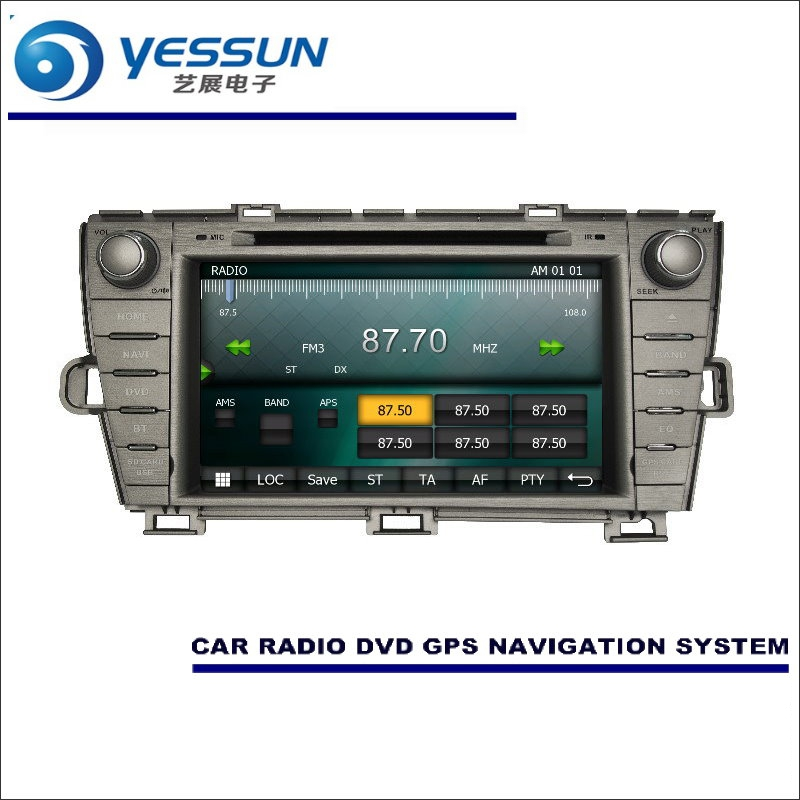 US $248 0 20% OFF YESSUN For Toyota Prius 2009~2015 Car Radio CD DVD Player  Amplifier HD TV Screen GPS Map Nav Navi Navigation Audio Video System-in