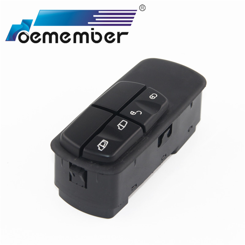 Window Power Mirror Master Switch For Mercedes Benz Truck Car Window Control Switches 0045451213