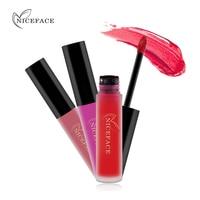 NICEFACE Lip Gloss 34 Colors Nude Matte Liquid Lipstick Mate Waterproof Long Lasting Moisturizing Lipgloss Lip Makeup Cosmetics 3