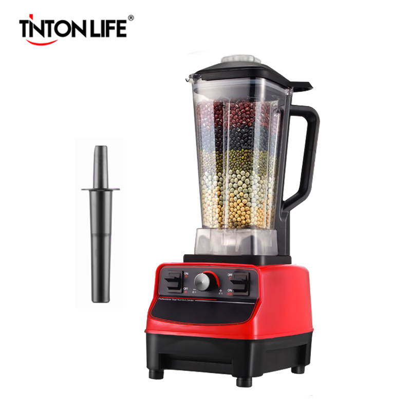 TINTON LIFE 33000R/M 2L BPA Commercial Grade Home Professional Smoothies Power Blender Food Mixer Juicer Food Fruit Processor multi function kitchen cooking machine commercial blender food mixer 1 2l home food processing machine fruit food processor