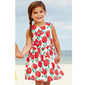Branded 100% Cotton New 2017 Summer Baby Girls Dress Toddler Children Clothing Kids Clothes Girls Casual Little Dress Baby Girls