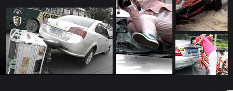 E-ACE Car Dvr Rearview Camera Mirror Auto Dashcam Video Recorder Automobile Full HD1080P Camcorder Dual Camera Lens Registrator 5