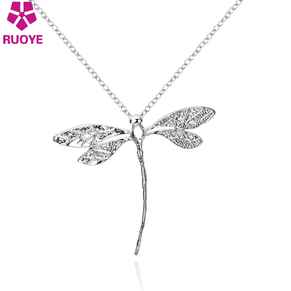 crazy pendant dragonfly long ficklesticks necklace ladyz shop