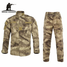 Multicam Black Military Uniform Camouflage Suit Tatico Tactical Military Camouflage Airsoft Paintball Equipment Clothes