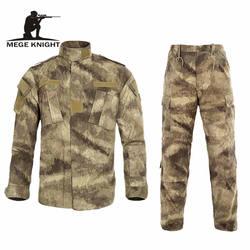 Мультикам черный военная форма Камуфляжный костюм татико Тактический военная Униформа Airsoft Пейнтбол оборудования одежда