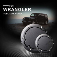 Tank Covers for Jeep Wrangler JK 2007 2018 Car oil Cap Fuel Tank Cap Cover for Jeep Wrangler Accessories Car Styling