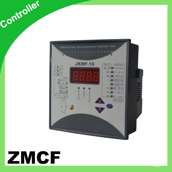 цена на ZMCF power factor controller anti harmonic compensating controller 12 encode program output way selection