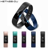 ID115 Smart Fitness Bracelet Sport Pedometer Clock Vibration Activities Tracker Bracelets Smart Band Wristband For Android