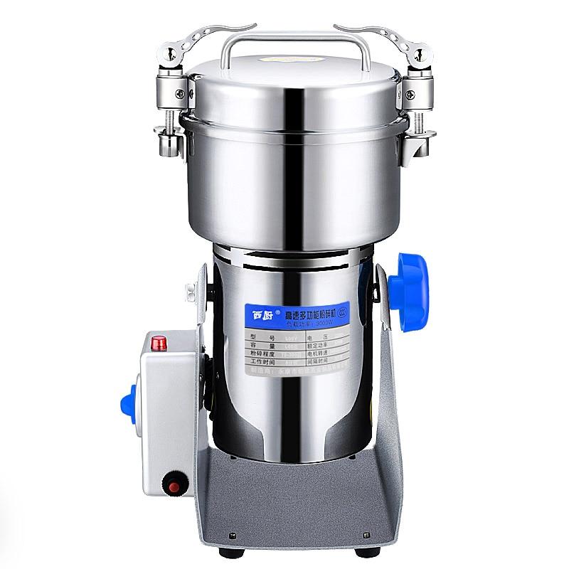 Grinder West Kitchen Stainless Steel Grain Grinder Household Electric Medicine Mill Ultra-fine Powder Grinding Machine 1