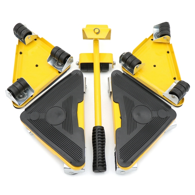 Furniture lifter moving sliders 4