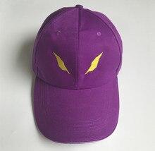 NEON GENESIS EVANGELION Unit 01 EVA Eyes Embroidered Purple Adjustable Hat Cosplay Baseball Cap