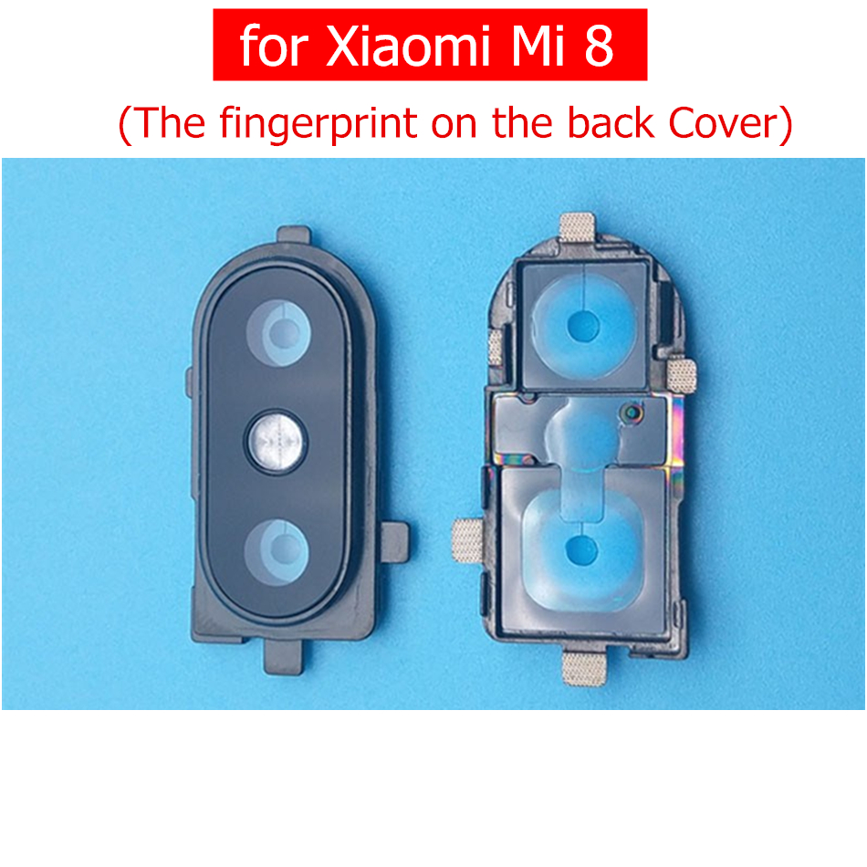for Xiaomi Mi 8 Camera Glass Lens Frame Back Rear Camera Glass Lens Frame Holder for Xiaomi Mi8 Repair Spare Parts(China)