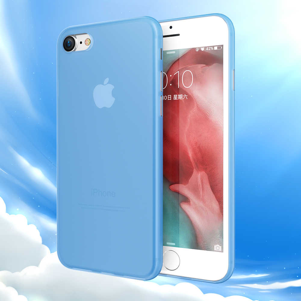 KISSCASE Color caramelo teléfono carcasa para iPhone 6 6s 7 7 Plus Ultra delgada mate móvil de la PC funda para iPhone x XR XS Max Fundas