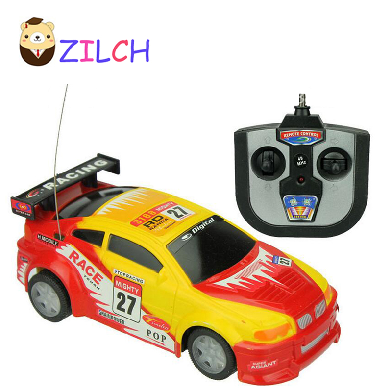 speed race remote control toy car electric led flashing racing tire light rc car best gift