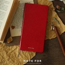 Note For Weeks Journal Undated Classic Diary 9.4*18.7cm DIY Slim Planner Book 80 Sheets Free Shipping 2018 New Pure Color