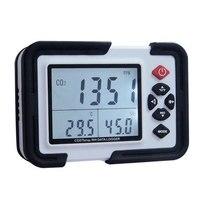 CO2 углекислый газ воздуха Температура влажность Регистратор данных метр монитор ЖК дисплей/PC