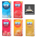 50 Pcs/Lot  Hot Sale Quality Sex Products 5 Box Of Natural Latex Condoms For Men Adult Better Sex Toys Safer Contraception