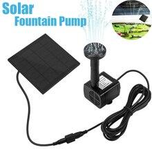 цена на 200L/H DC 7V Solar Water Pump Solar Fountain Garden Miniature Floating Fountain Solar Direct Drive Water Pump