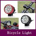 12000LM 8x CREE XML XM-L T6 LED Vélo De Bicyclette de Lumière Lampe 8.4 v 12000 mAh Batterie + AC chargeur