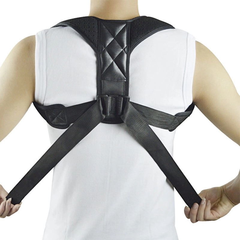New Spine Posture Corrector Adult Children Back Support Belt <font><b>Humpback</b></font> Back Pain Relief Corrector Brace Shoulder Correct image