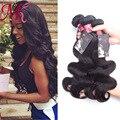 """Onda del cuerpo peruano 3 paquetes peruana virgin hair body wave moko queen hair productos de cabello humano de 8 """"-28"""" Virgin Peruivan pelo Venta"""
