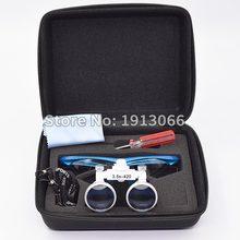 Hohe qualität 3,5 X420mm Tragbare Zahnarzt Chirurgische Medizinische Binocular Dental Lupe Optische Glas Für Dental Prüfungen