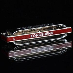 Image 3 - Kongsheng Diatonic Harmonica 10 Holes Blues Harp Master Mouth Organ Key Of C Professional Musical Instruments KongSheng Sunrise