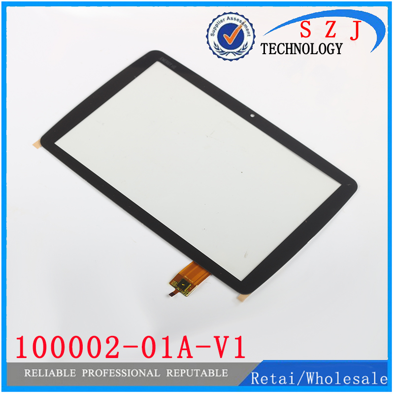 Original 10.1 inch Tablet pc Replacement Touch Screen 100002-01A-V1 for ENERGY x10 Digizer MID Touch Panel Free shipping