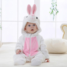 Cartoon Design Baby Long sleeve Winner Clothe Toddler Newborn Baby Boys Girls Animal Cartoon Hooded Rompers Outfits Clothes #ES(China)