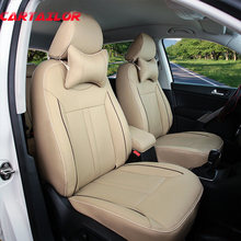 CARTAILOR font b car b font seat cover set fit for Peugeot 307 SW PU leather