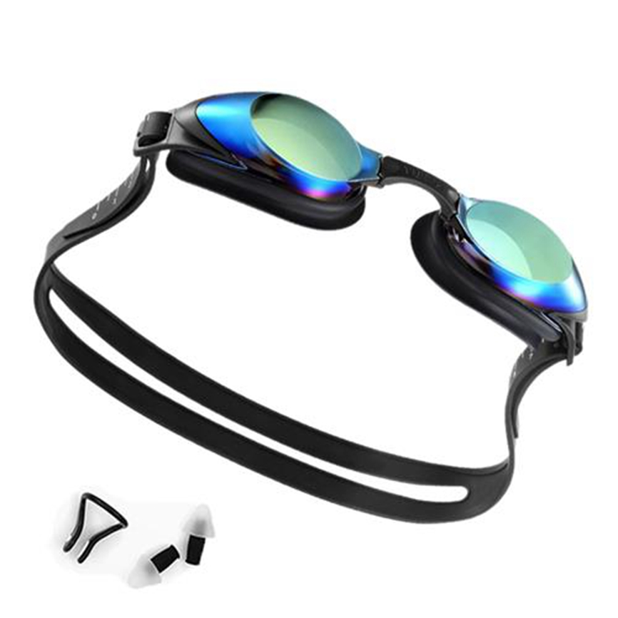 Xiaomi Mijia Yunmai Adult Swimming Goggles Ergonomic Anti-fog Coating Lens Waterproof HD Wide Angle Goggle Nose Stump Earplugs