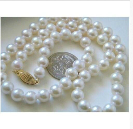 цена на classic 209-10MM NATURAL SOUTH SEA WHITE PEARL NECKLACE 14K