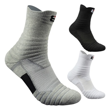 1 Pair Men\'s Cotton Outdoor Sports Socks
