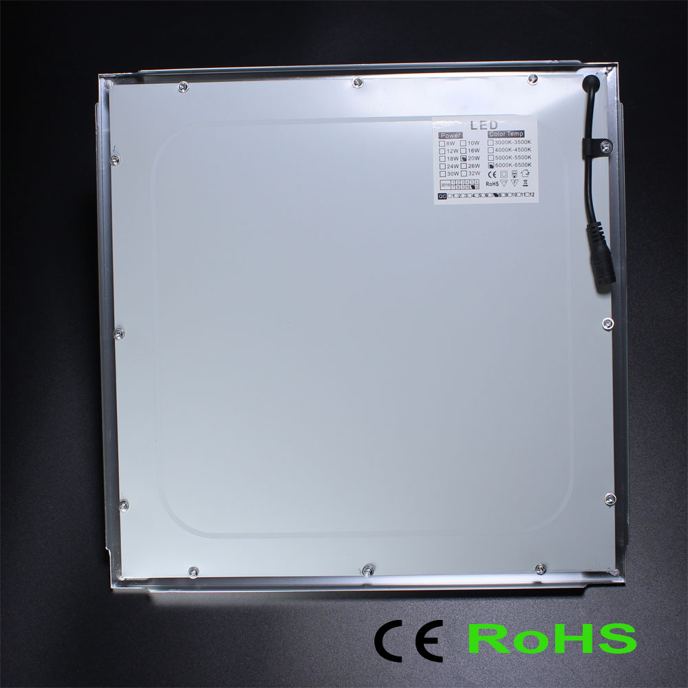 Integrated kitchen ceiling lights LED panel light embedded flat ...