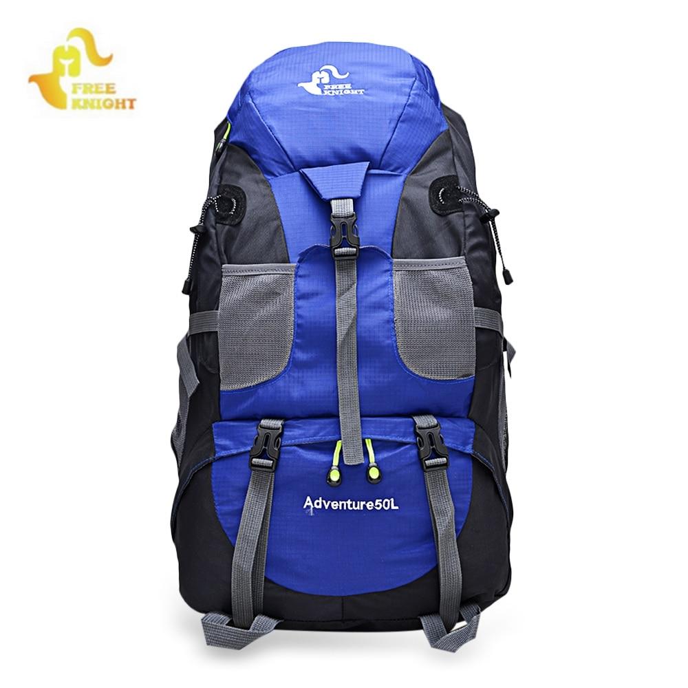FREE KNIGHT FK0396 Waterproof Backpack Mountaineering Backpacks Climbing Bags <font><b>Cycling</b></font> Camping Bag Rucksack
