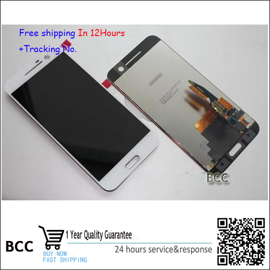 For HTC 10 one m10 Original Touch Screen Digitizer +LCD display Black or white color Test ok+Tracking lcd screen display touch panel digitizer with frame for htc one m9 black or silver or gold free shipping