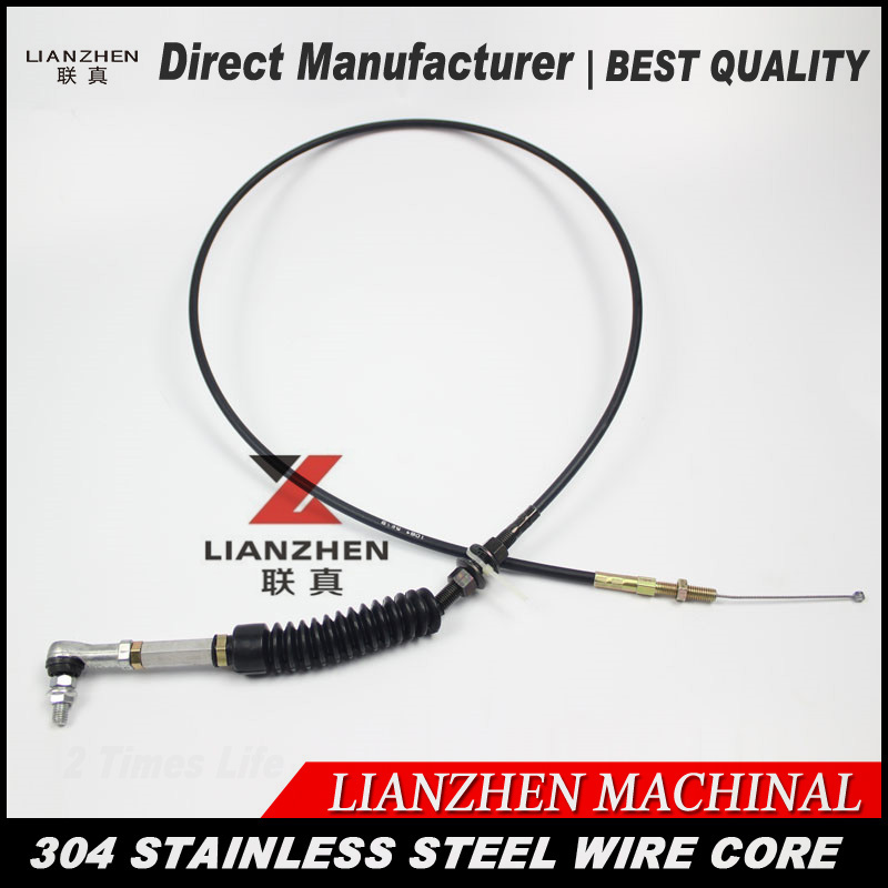 цена на Excavator parts LIANZHEN 307C E307B throttle control cable parts direct manufacturer