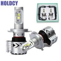 H4 H13 H7 H11 9005 9006 LED Car Headlights Hi Lo Beam Bulb 72W 12000LM Automobile