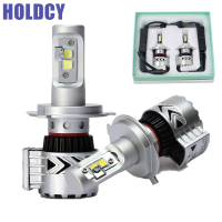 H4 H13 H7 H11 9005 9006 LED Car Headlights Hi Lo Beam Bulb 72W 12000LM Automobile