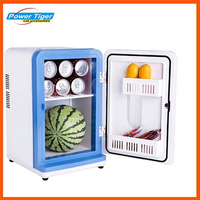 12L 12V Car Mini Refrigerator Cooling And Heating Portable Freezer Refrigerator Auto Temperature Refrigerator 5' +65'