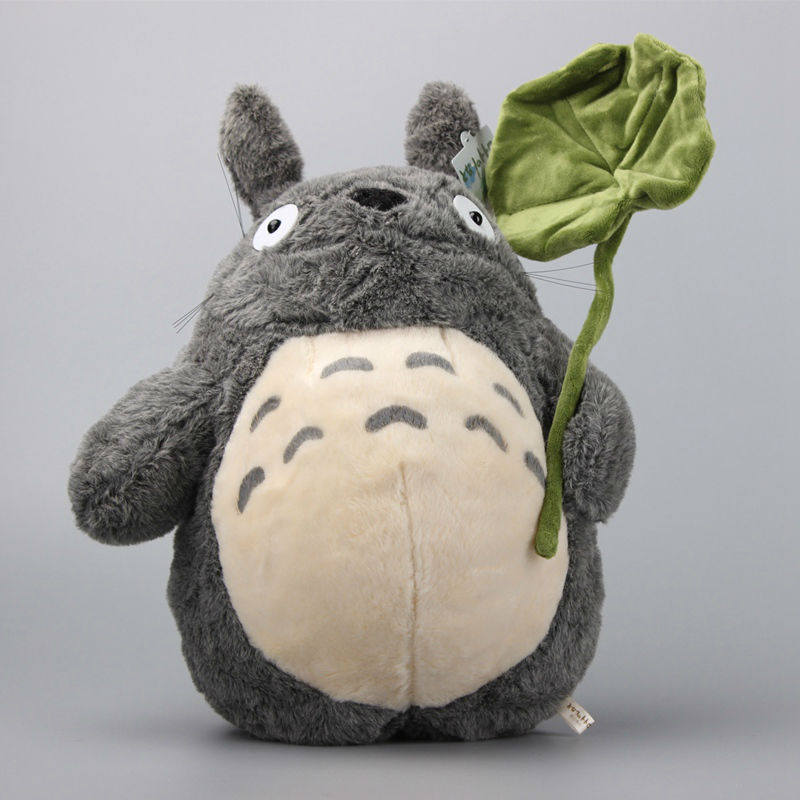 Alta Qualidade Totoro Brinquedo de Pelúcia Bonito do Anime Ghibli Hayao Miyazaki Meu Neightor 36 CENTÍMETROS Macio Stuffed Dolls Presente Das Crianças