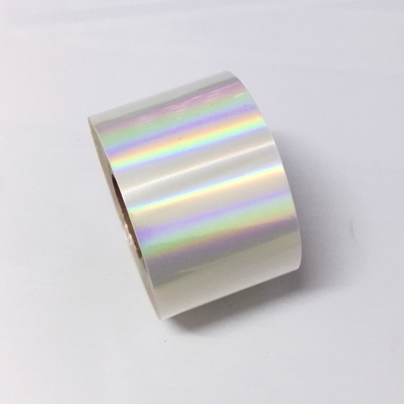 120M*4CM Holographic Nail Art Transfer Foil Stickers 1Roll Transparent Laser light Nail Polish Tips Accessories JH04 1roll 4cm 120m laser rose gold nail transfer foil stickers nails art decorations manicure declas for nails accessories
