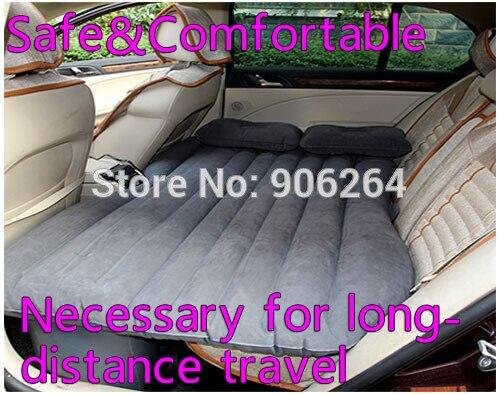 Автомобиль Мобильная воздушная Подушка кровать спальня инфляции в путешествии в толще матрас с бесплатной двумя подушками