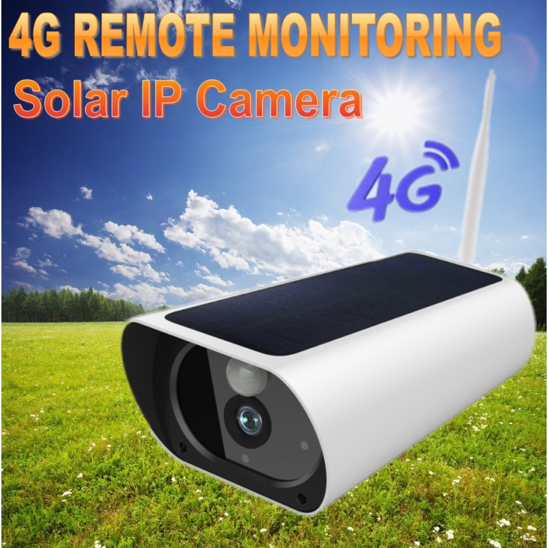 FLASH SALE] 4G Solar Powered 1080P HD Camera Outdoor