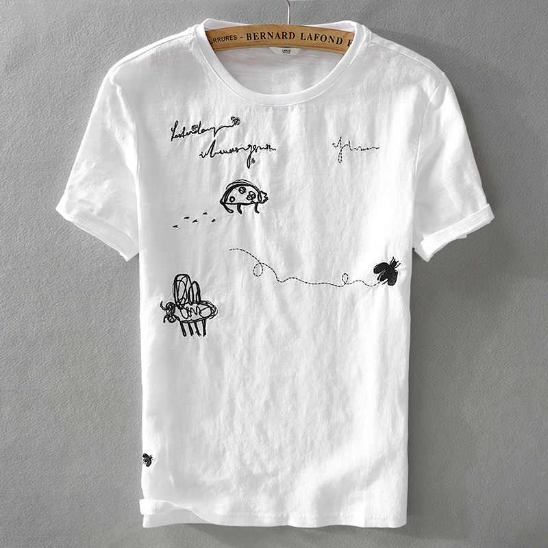 мужские летние футболки с коротким рукавом