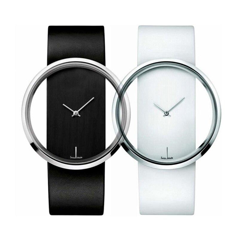 2017 New Watch Women Famous Brand Designer Ladies Quartz-watch Popular Female Clock Leather Straps Women Watches Montre Femme mance ladies brand designer watches